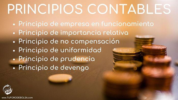 6 Principios contables aceptados en España